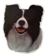 H Dekal border collie huv 2-p