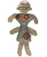 H Leksak canvas country dog buttons