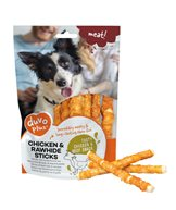 H Tugg Chicken & rawhide sticks 6p